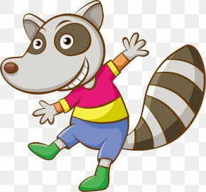 Animals - Raccoon Cartoon PNG
