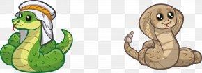 Vector Cartoon Snake - Snake Reptile Clip Art PNG