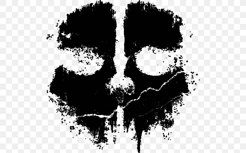 Call Of Duty: Ghosts Call Of Duty 4: Modern Warfare Call Of Duty: Infinite Warfare, PNG, 512x512px, Call Of Duty Ghosts, Art, Black And White, Call Of Duty, Call Of Duty 4 Modern Warfare Download Free