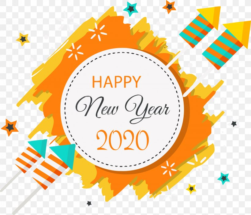 Korean New Year 2020.Happy New Year 2020 New Years 2020 2020 Png 2881x2478px