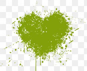 Fresh Ink Heart - Ink PNG