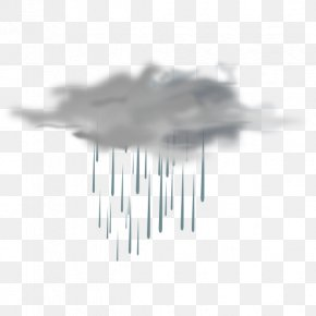 Cliparts Rain Showers - Weather Forecasting Freezing Rain Icon PNG