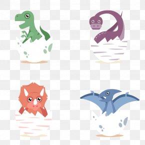 Vector Dinosaur Eggs - Paper Wedding Invitation Dinosaur Euclidean Vector PNG