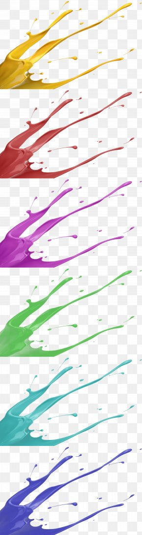 Spray Painting - Color Splash PNG