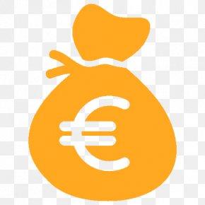 Money Bag - Euro Sign Money Bag Coin PNG