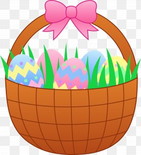 Cute Easter Cliparts - Easter Bunny Easter Basket Clip Art PNG