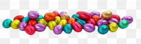 Colorful Eggs - Easter Egg Easter Bunny Chocolate Truffle PNG