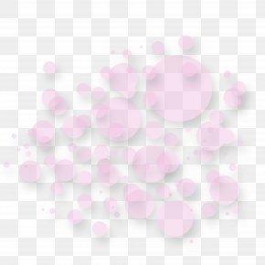 Pretty Pink Circle Creative - Petal Circle PNG