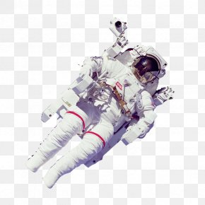 Flying Astronauts - Astronaut Extravehicular Activity Clip Art PNG