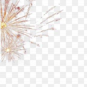 Golden Fireworks Picture Material - Adobe Fireworks Gold PNG