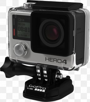GoPro Camera - GoPro Hero2 Video Camera PNG
