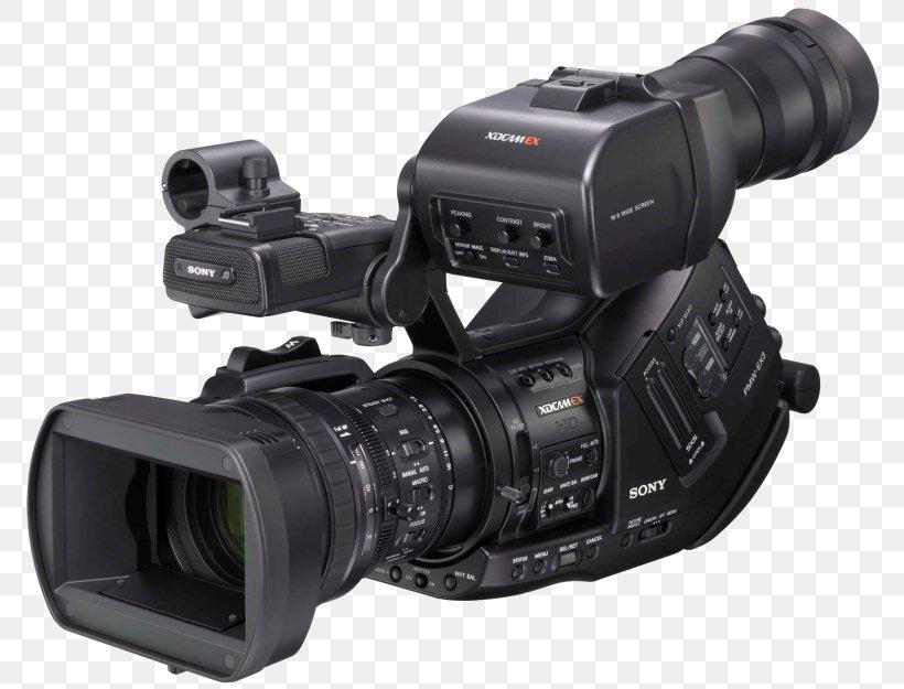 Sony XDCAM EX PMW-EX3 Video Cameras High-definition Video, PNG, 800x625px, Camera, Camcorder, Camera Accessory, Camera Lens, Cameras Optics Download Free