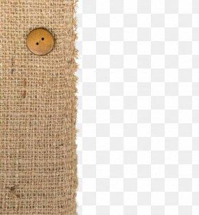 Burlap Button - Textile Hessian Fabric Linen PNG