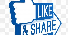 Like Share Comment - Like Button YouTube Social Media Facebook PNG