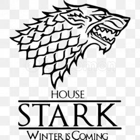 Raven Game Of Thrones - A Game Of Thrones Daenerys Targaryen House Stark Winter Is Coming House Targaryen PNG