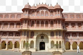 India City Palace Photo 2 - City Palace Jantar Mantar Hawa Mahal Amer Fort Jal Mahal PNG