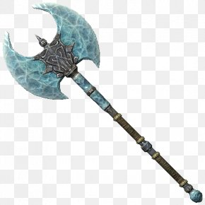 Weapon - The Elder Scrolls V: Skyrim – Dragonborn The Elder Scrolls V: Skyrim – Dawnguard The Elder Scrolls IV: Shivering Isles Battle Axe Weapon PNG