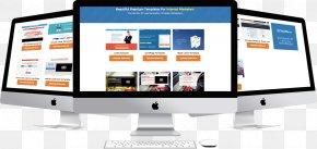 Imac - Display Advertising Business Computer Monitors Marketing Display Device PNG