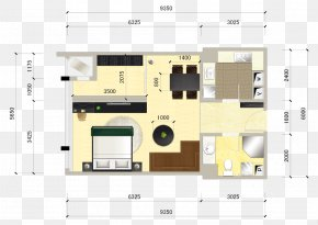 Home Improvement Renderings Small Apartment Single Room Flat Supporting Color Diagram - Floor Plan Plane Interior Design Services PNG