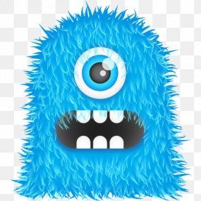 Blue Monster Transparent Image - Monster Icon PNG