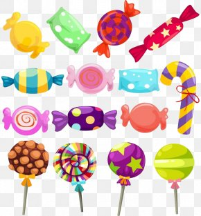 Candy - Lollipop Gummi Candy Candy Cane Clip Art PNG