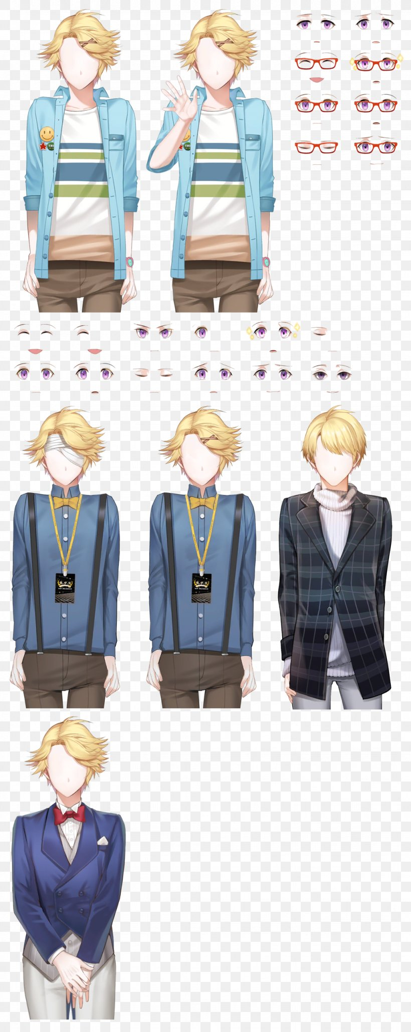 Mystic Messenger Sprite Video Game Visual Novel, PNG, 1024x2573px, Mystic Messenger, Clothing, Costume Design, Figurine, Game Download Free