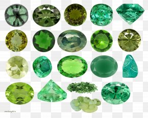 Gemstone - Gemstone Color Green PNG
