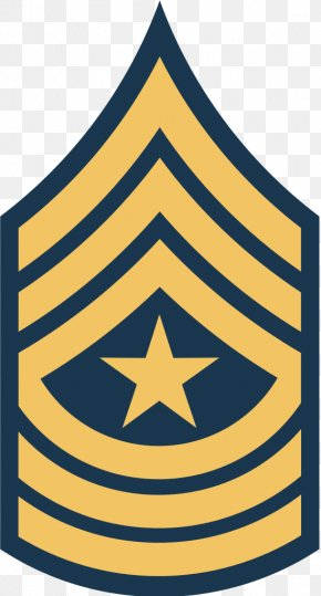 Armed Forces Rank - Sergeant Major Of The Army United States Army Military Rank PNG