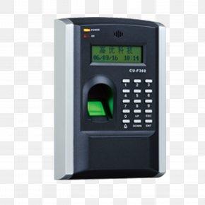 Square Fingerprint Recognition Punch Card Attendance Management - Door Security Fingerprint Attendance Management Car Park PNG