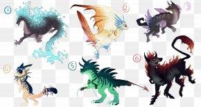 Creature - Dragon Drawing Art Legendary Creature Mythological Hybrid PNG