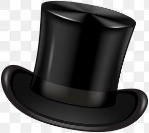 Black Top Hat Transparent Clip Art Image - Top Hat Clip Art PNG