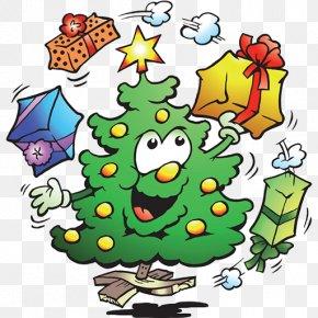 Christmas Tree - Christmas Tree Can Stock Photo Clip Art PNG