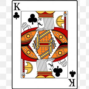 King Of Clubs - King Of Spades Playing Card Jack Clip Art PNG