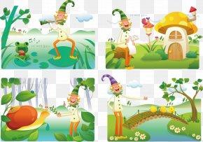 Snail Vector - Flora Fauna Spring Framework Illustration PNG