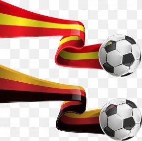 Football Crowded Ribbons - Royalty-free Flag Clip Art PNG