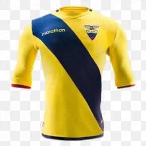 T-shirt - Copa América Centenario Ecuador National Football Team T-shirt Spain La Liga PNG