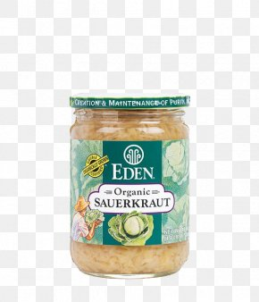 Organic Food Items - Organic Food Condiment Eden Foods Inc. Sauerkraut PNG