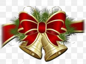 Christmas Bell - Christmas Bell Clip Art PNG