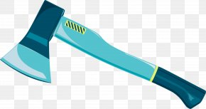 Blue Axe - Axe PNG