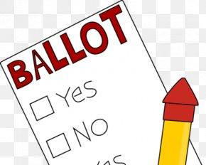 Election Ballot Cliparts - Ballot Box Voting Clip Art PNG