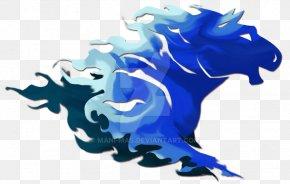 Blue Fire - Horse Fire Desktop Wallpaper PNG