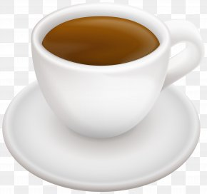 Cup With Coffee Transparent Clip Art Image - Coffee Doppio Tea Caffè Americano Espresso PNG