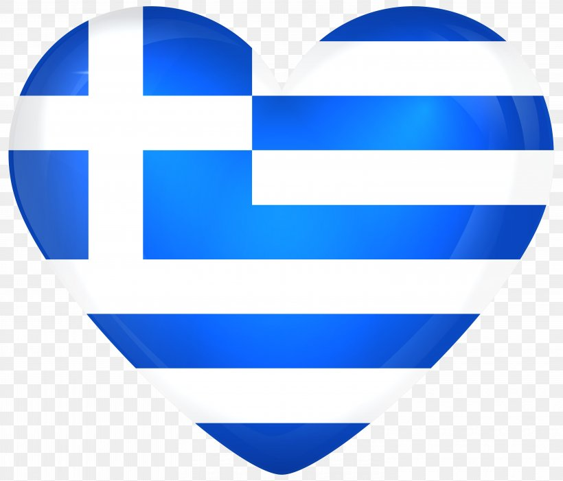 Flag Of Greece Heart National Flag, PNG, 6000x5132px, Greece, Blue, Flag, Flag Of Greece, Flag Of India Download Free