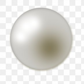 Pearl - Product Material Sphere Design PNG