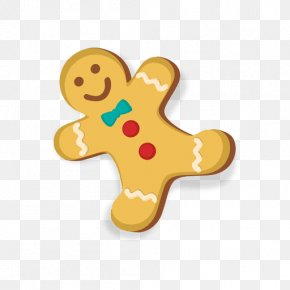 Cookie - The Gingerbread Man Ginger Snap PNG