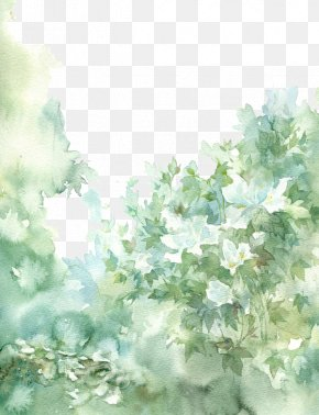 Chinese Antiquity Beautiful Watercolor Illustration PNG