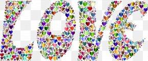 Prismatic Love - Love Heart Clip Art PNG