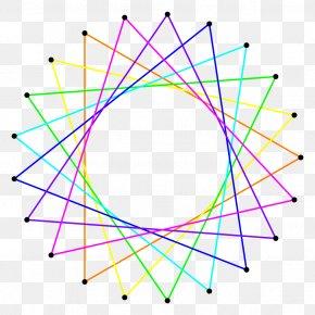 Irregular Figure - Icositetragon Angle Circle Star Polygon PNG