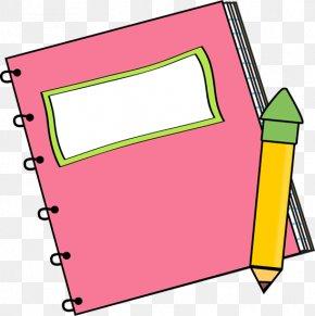Pen Border Cliparts - Paper Notebook Free Content Clip Art PNG