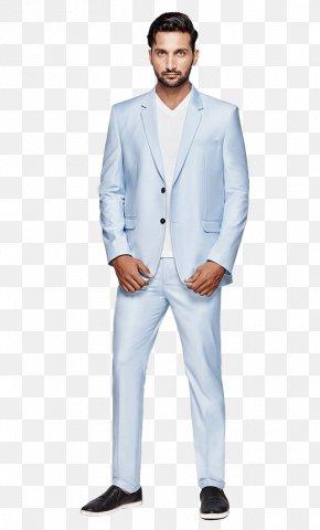 Suit Actor - Ranbir Kapoor Roy Blazer Blue Suit PNG